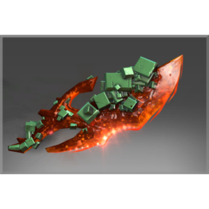 Inscribed Crimson Emerald Conquest